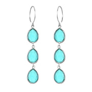 Cabo Teardrop Waterfall Earrings