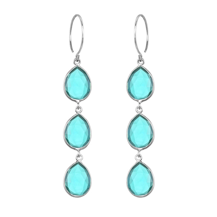 Cabo Teardrop Waterfall Earring