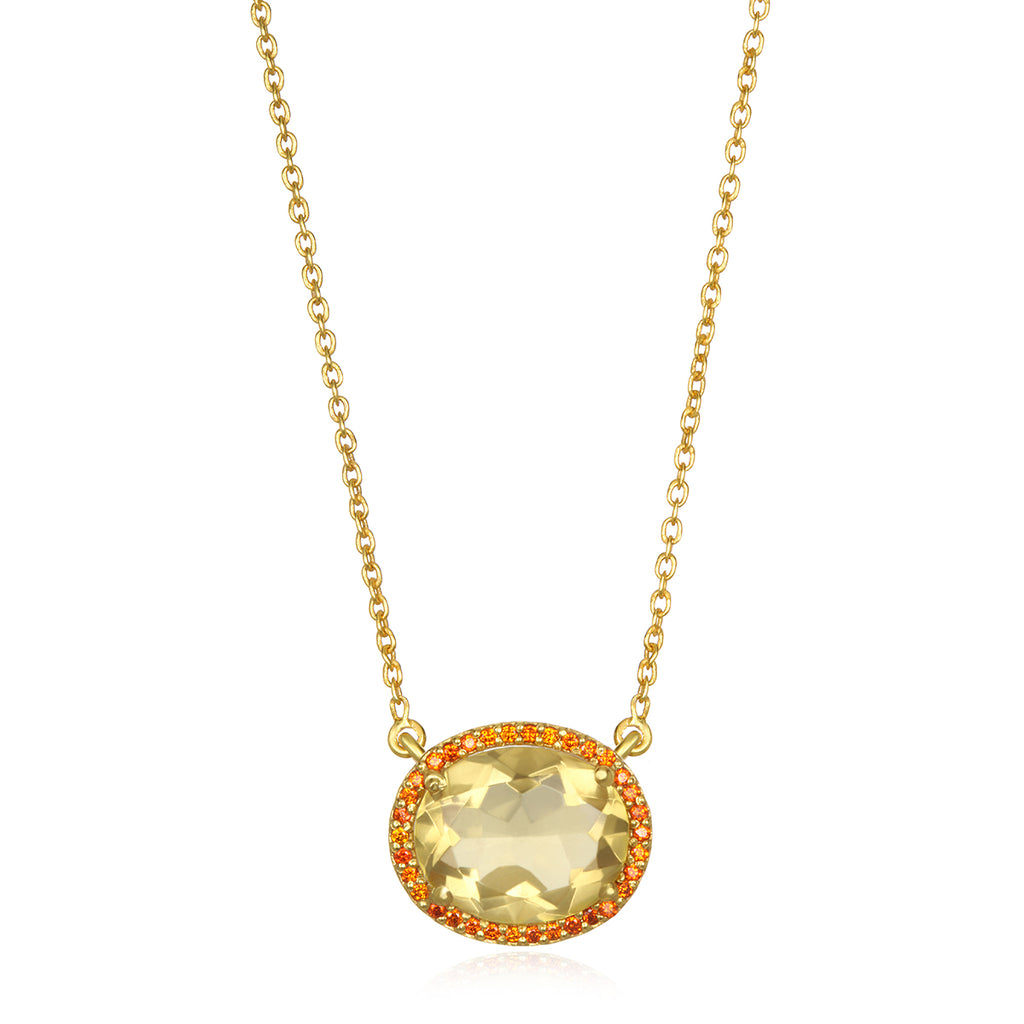 Charleston Necklace - Yellow Gold