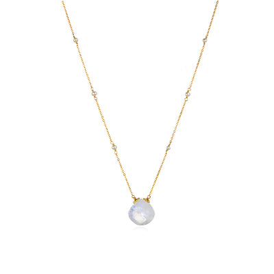 Catherine Necklace-Moonstone