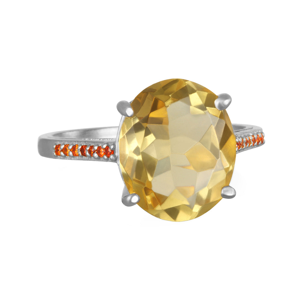 Charleston Ring - Yellow Silver