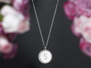 Round Charm Necklace