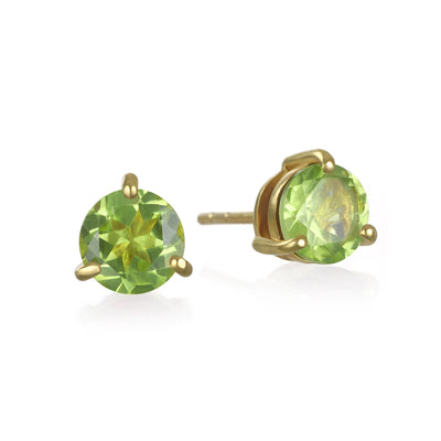 Birthstone Earring-August Peridot