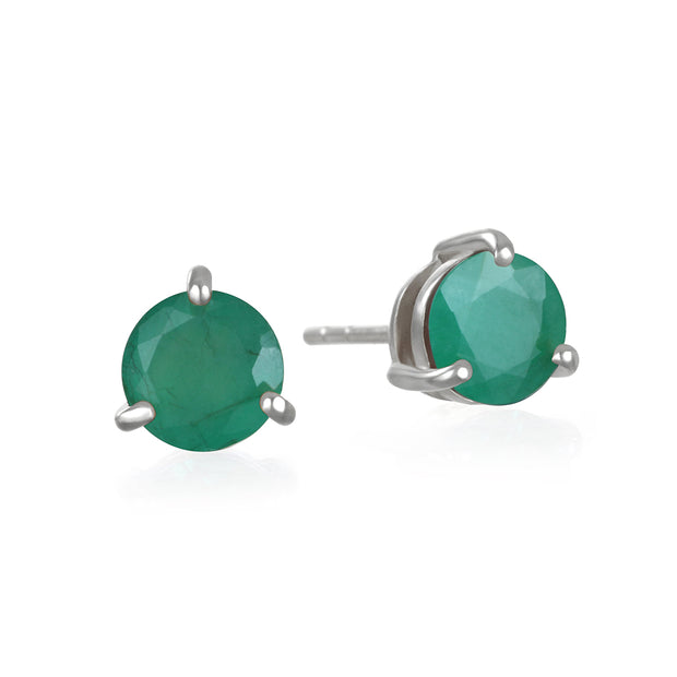 Birthstone Earring-May Chrome Diopside