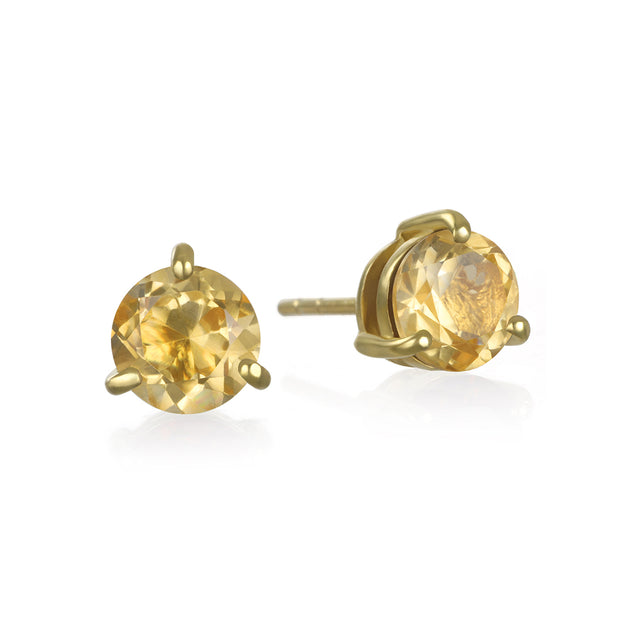 Birthstone Earring-November Citrine
