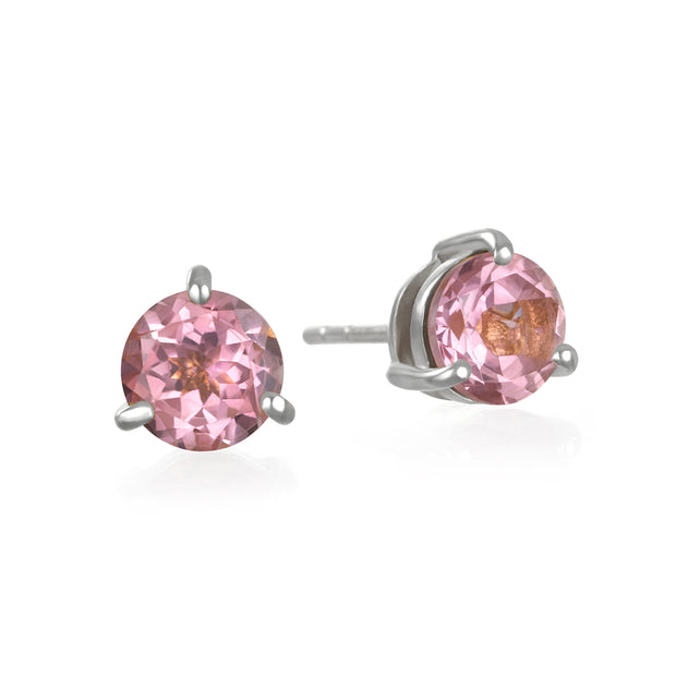 Birthstone Earring-October Pink Topaz