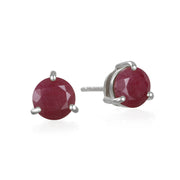 Birthstone Earring-July Ruby
