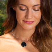 Cabo Grand Teardrop Necklace