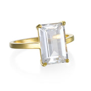Chatham Ring-White Topaz Gold