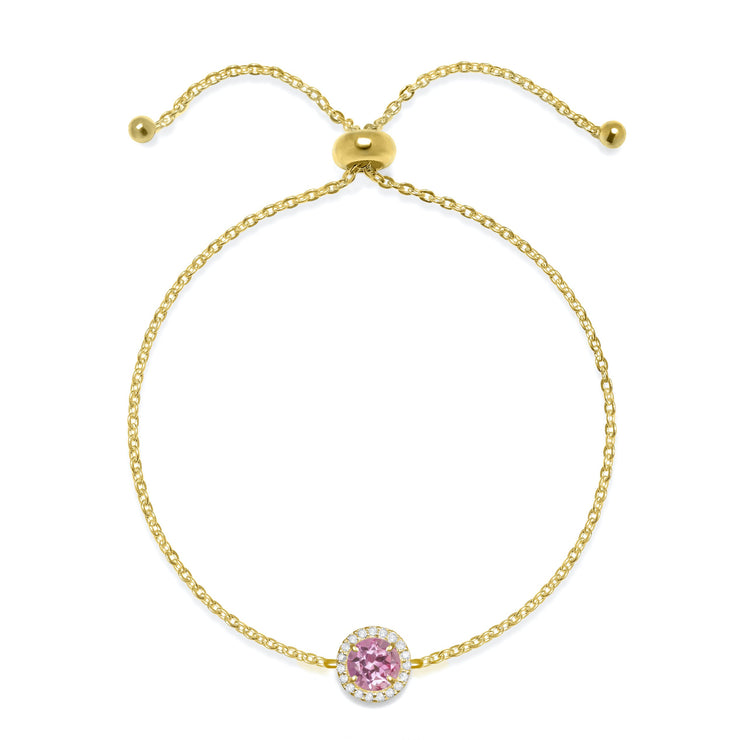 NEW!  Birthstone & Diamond Bracelet