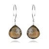 Catherine Earring-Smokey Quartz