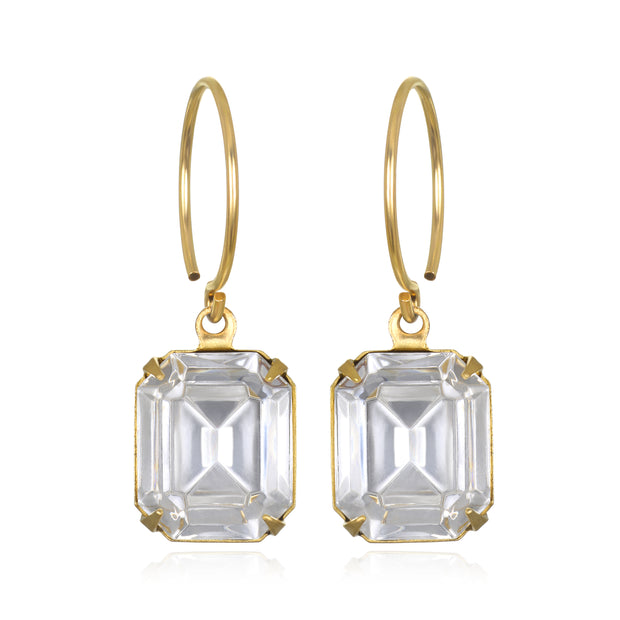 Charleston Solitaire Earring