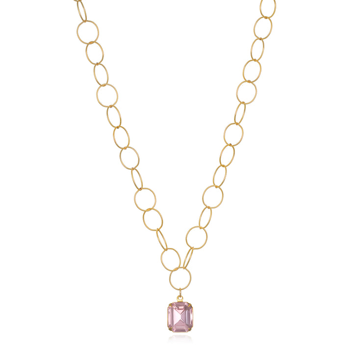 Charleston Solitaire Necklace