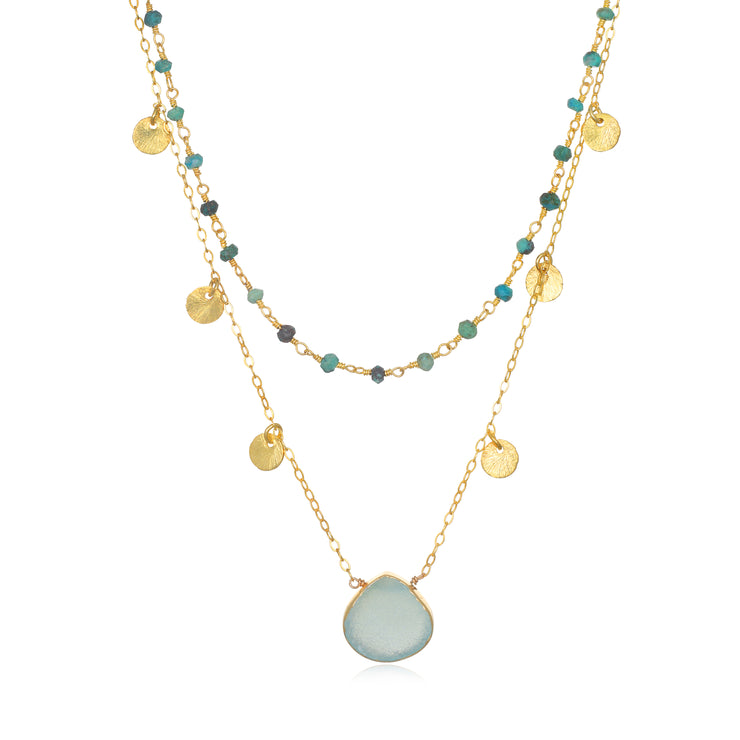 Catalina Disc Necklace