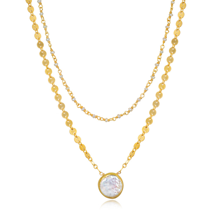 Catalina Circle Necklace