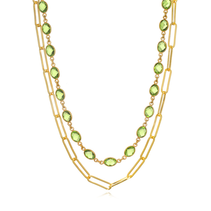 Catalina Paperclip Necklace