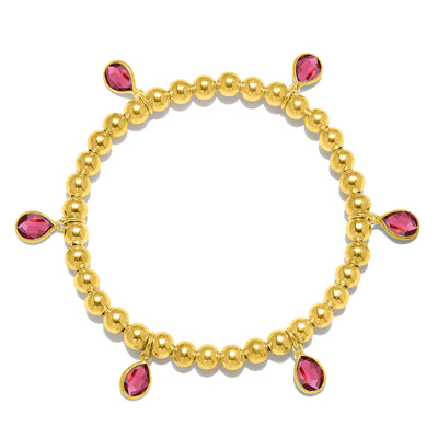 NEW! Teardrop bracelet gold-solid colors