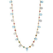 Wildflower Topaz Necklace-choker and long lengths!