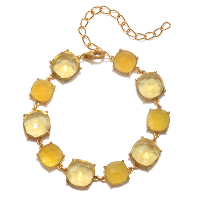 Catalina Bracelet Cushion Yellow