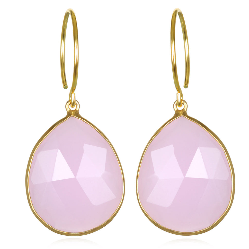 Cabo Gem Teardrop-Strawberry Pink Gold