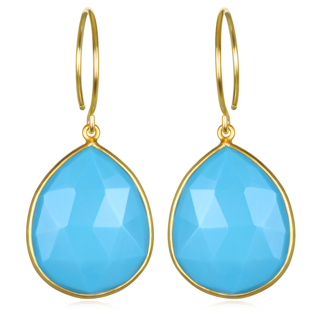 Cabo Teardrop-Turquoise Gold