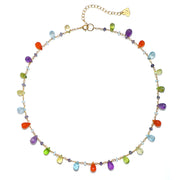 Wildflower Necklace-Shades of Summer