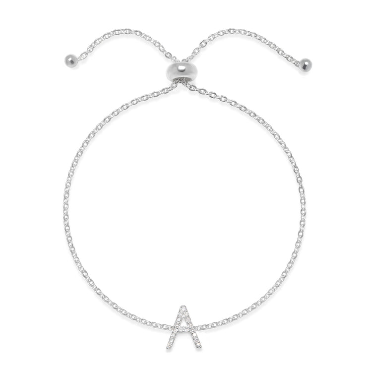 NEW! Diamond Initial Bracelet