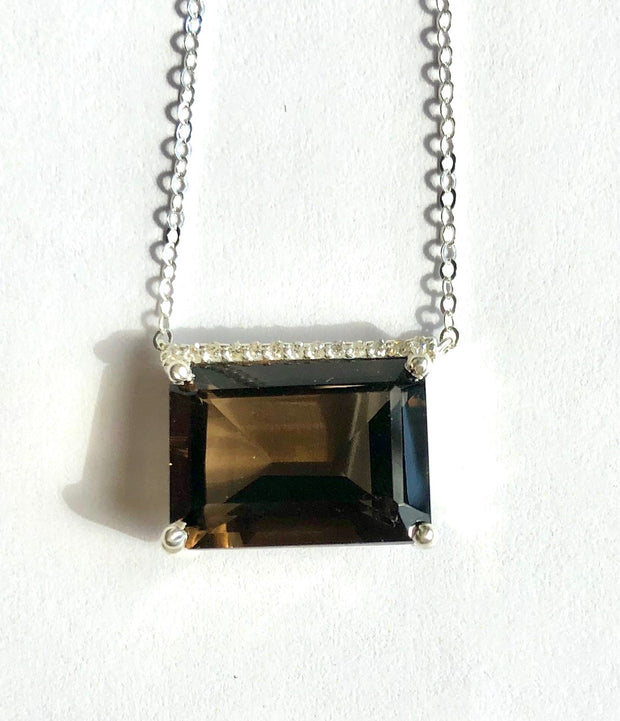 Chatham Diamond Necklace