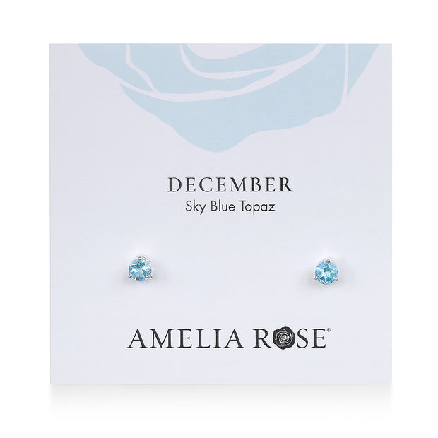Birthstone Earring-December Topaz