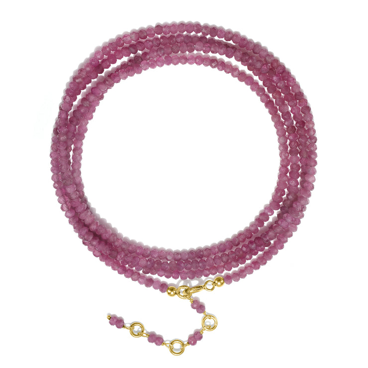 Semi-Precious Wrap Bracelet-NEW COLORS!