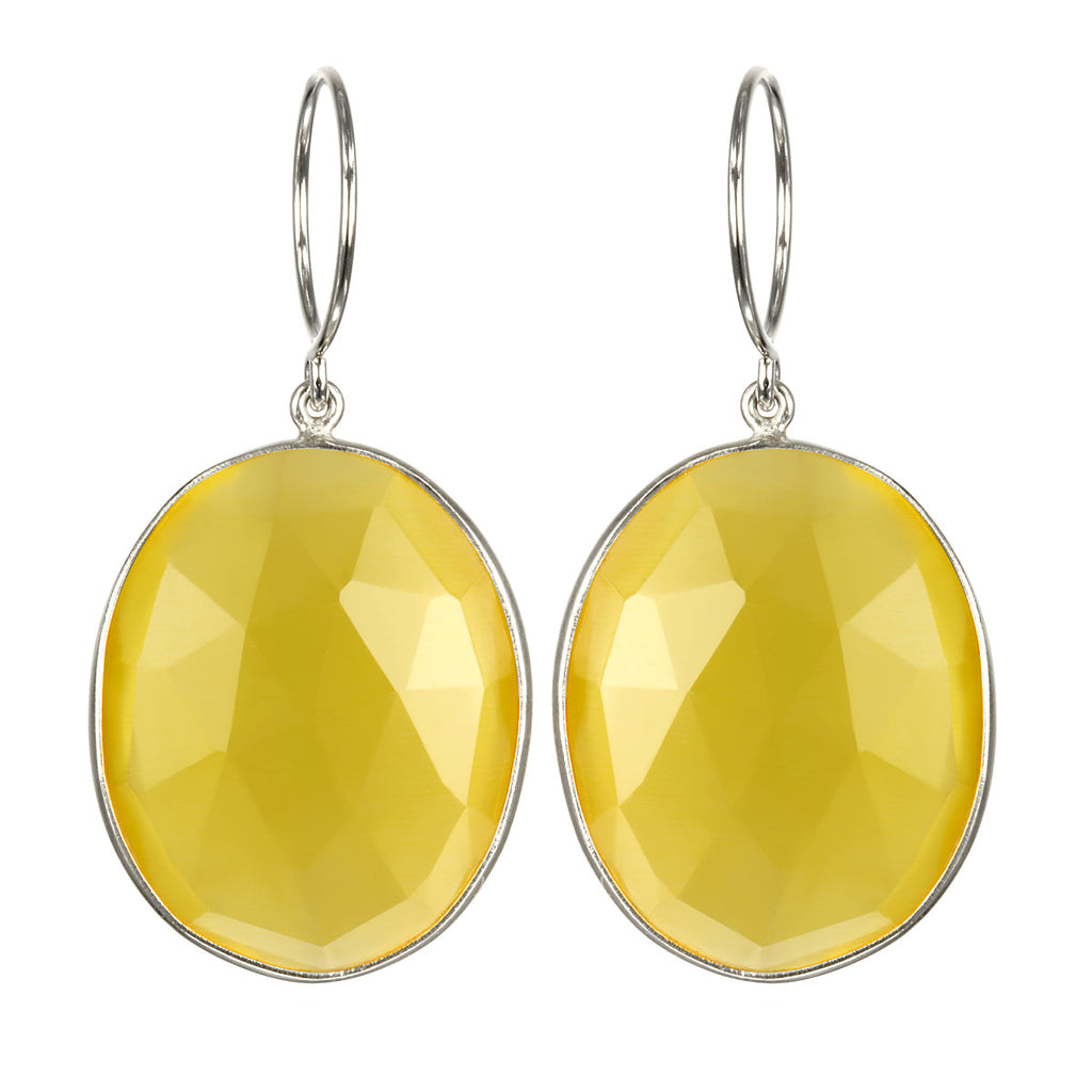Cabo Grace Earring-Yellow Silver