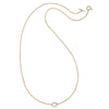 Mandello Necklace-Moonstone Gold