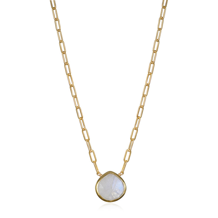 Aegean Solitaire Necklace