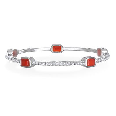 Paris Bangle-Carnelian