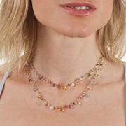 Wildflower Pearls Necklace-long