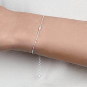 NEW! Diamond Solitaire Bracelet