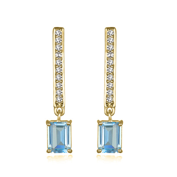 Paris Drop Earring Gold