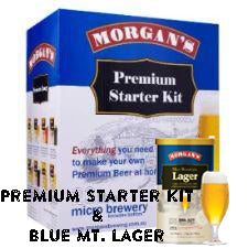 Premium Starter Kit (Blue Mt. Lager) - 23L
