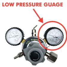Low Pressure Gauge for Regulator 0-100 psi