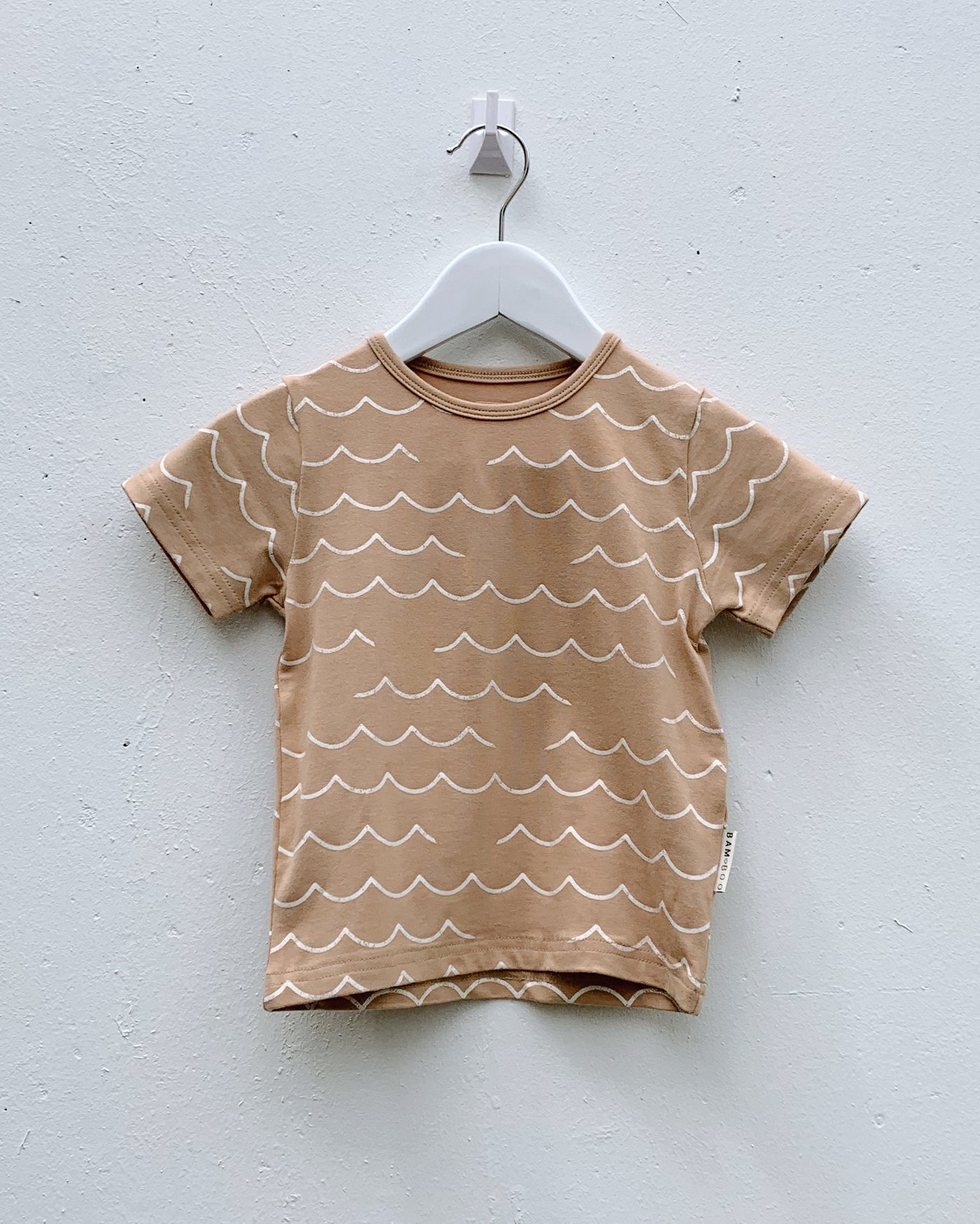Making Waves Tee - Honey - LAST ONE (6-12M)!