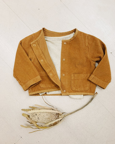 Manioc Corduroy Jacket - Brown Sugar