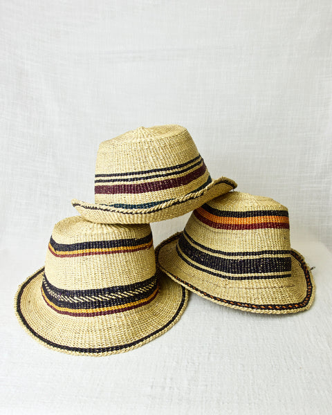Bolga Hat - Narrow Brim