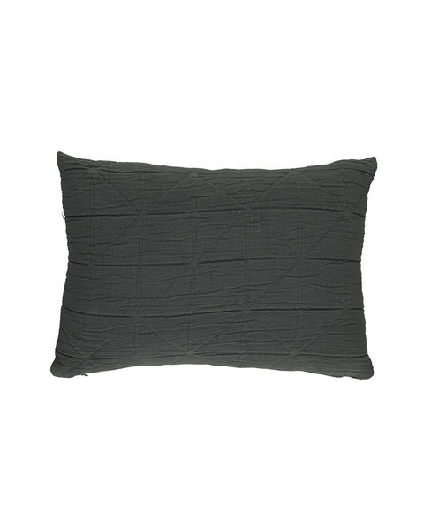 Diamond Cushion - Charcoal