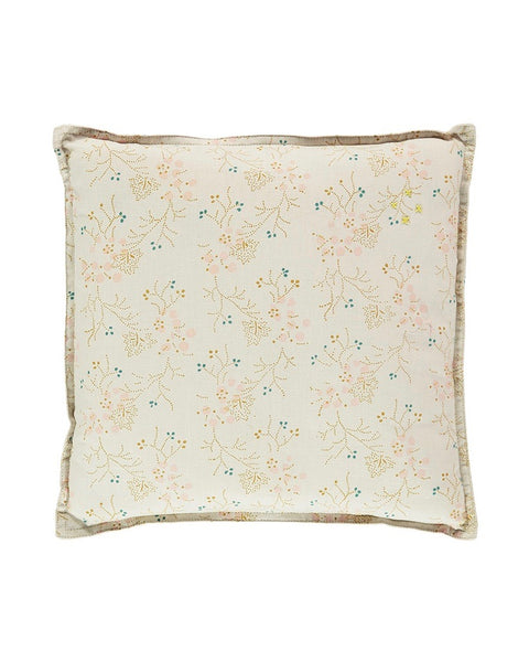 Square Cushion - Golden Minako Floral