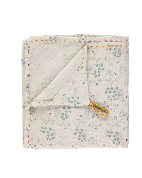 Single Layer Swaddle/Blanket - Cornflower Minako Floral