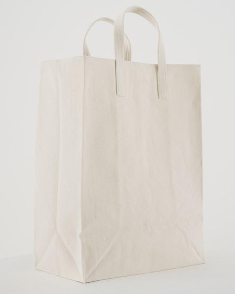 Canvas Market Tote - Natural Canvas