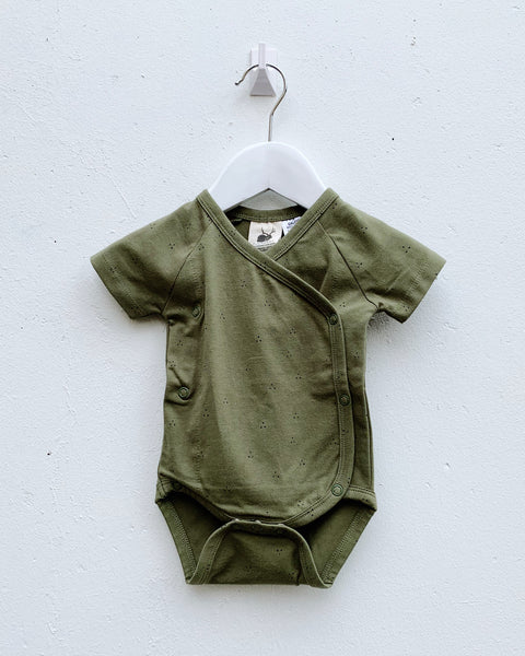 Wrap Bodysuit - Fir