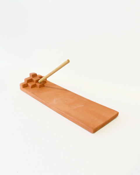 Terrace Incense Burner - Terracotta