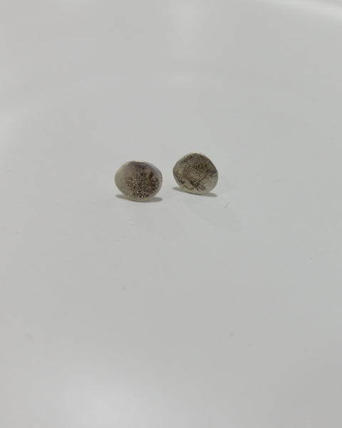 Argent Silversmith Mini Moon Studs at Heyday Store Adelaide