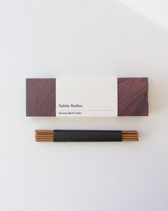 Korean Red Cedar Incense